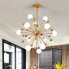 Gold Glass Chandelier Luxury Livingroom Chandelier Lights Beonelighting Com
