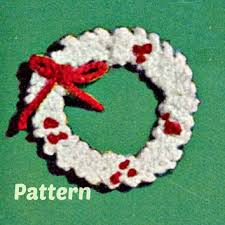 best crocheted wreaths products on wanelo