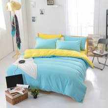 Blue Yellow Comforter Online Get Cheap Solid Yellow Comforter Aliexpress Com Alibaba