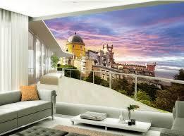 t駘騅ision pour chambre 3d papier peint pour chambre européenne style grec château