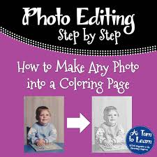 how to make any picture coloring page add photo gallery how to