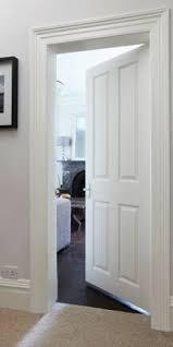 Interior 4 Panel Doors Panel Grained Interior Door