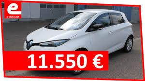 Kaufen Kaufen Renault Zoe Intens 11 550 U20ac Elektroauto Gebraucht Kaufen E