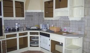 meubles de cuisine en bois brut a peindre peindre cuisine bois beautiful repeindre meuble cuisine bois 13 de