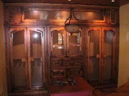 bqr log home gun display cabinet architectural renderings