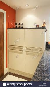 kitchen units used for concealing washing machine and tumble dryer