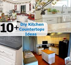diy kitchen countertops ideas 10 diy kitchen countertops ideas diy home things