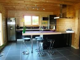 cuisine maison bois cuisine chalet bois meilleur idées de conception de maison