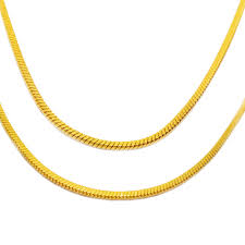 gold necklace types images Olivia different types of stainless steel gold square snake chain jpg
