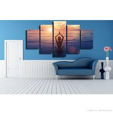 Sea Life Home Decor 2017 The Health Life Yoga Face The Sea For Modern Home Wall Decor