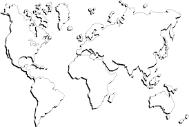 blank continent map continents outline map printable printable maps