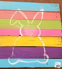 Easter Bunny Decoration Craft by Easter Decorations How To Make Bunny Art Diva Of Diy