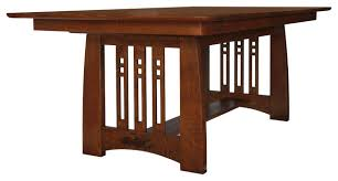 mission style living room tables delightful design craftsman dining table classy perfect craftsman