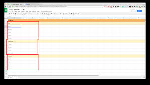 Edit Google Spreadsheet Google Apps Script Group By Row Categories Stack Overflow