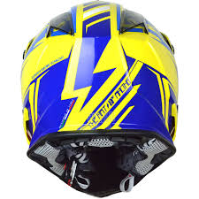 yellow motocross helmet new just1 mx j32 rave yellow blue just 1 dirt bike motocross