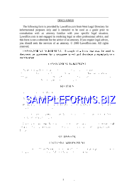 consignment agreement template u0026 samples forms