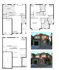 beautiful double storey house plan layout all about home