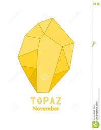 november birthstone yellow topaz gem gold stone yellow crystal gems and mineral