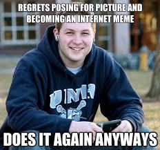 College Senior Meme - college senior update rebrn com