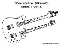 grand guitar coloring guitars free electric guitar