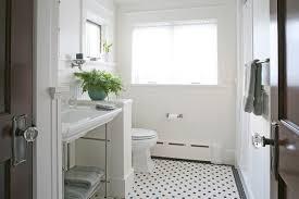 Black And White Bathroom Tile Designs White Bathroom Floor Tiles Ideas On Pinterest Bathrooms Cabinets