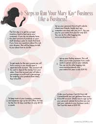 How To Do Business Cards 6 Key Steps To Running Your Mary Kay Business Like A Business