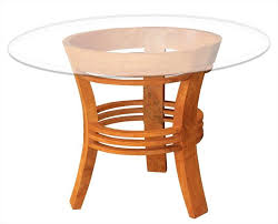 half moon dining table waxed teak half moon dining table by chic teak only 472 43