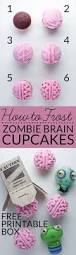 how to make all natural zombie brain cupcakes bren did
