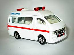 nissan van nv350 nissan nv350 caravan ambulance model cars hobbydb