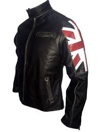 retro motorcycle jacket new men u0027s biker vintage motorcycle cafe racer uk flag leather jacket