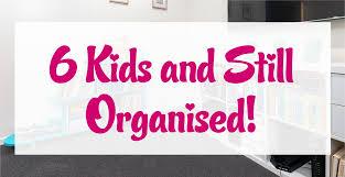 6 kids and still organised little miss organised