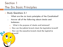 american government chapter 3 the constitution section 1 the six