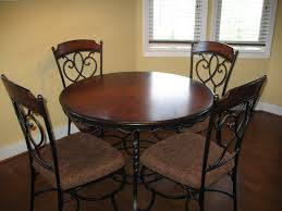 Kitchen Table With Chairs by Wrought Iron Kitchen Table Ideas Homesfeed