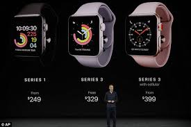 apple watch 3 indonesia apple watch series 3 review daily mail online