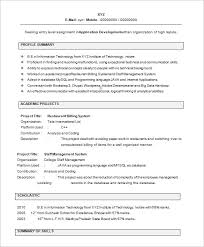 Resume Example Templates by 28 Resume Templates For Freshers Free Samples Examples