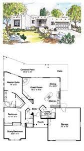 pueblo style house plans santa fe house plan 69352 total living area 1760 sq ft 3