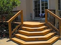 How To Build A Deck Handrail Building Deck Stairs Is A Set By Step Process Of How To Build Deck