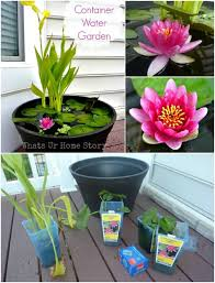 Mini Water Garden Ideas 30 Creative And Stunning Water Features To Adorn Your Garden Diy