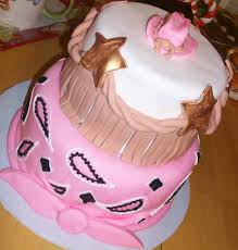 pink cowgirl birthday cake ideas 53907 chloe s inspiration