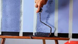 how to paint vertical plaid stripes paint techniques youtube
