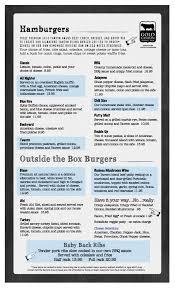 menu u2013 tavern 95