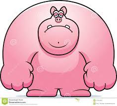 sad cartoon pig stock vector image 47053464