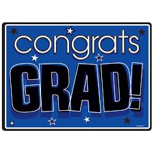 congrats grad purple graduation cutout thepartyworks clip