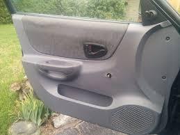 hyundai accent door panel fixing a broken car door handle 8 steps