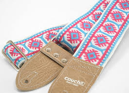 the couch imagining sun vintage hippie weave boho guitar strap