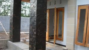 Exterior Wall Design Grey Nuance Front House Wall Design Ideas That Decorated With Soft