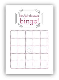 bridal shower gift bingo bridal shower bingo card template my posh closet