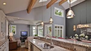 Vaulted Ceiling Kitchen Lighting Artistic Kitchen Cathedral Ceiling Lighting Ideas 12285 Of Find