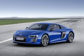 Audi R8 Blue - off again on again audi r8 e tron ended after 100 built