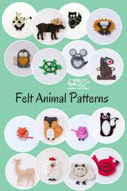 felt ornament patterns archives creative cain cabin